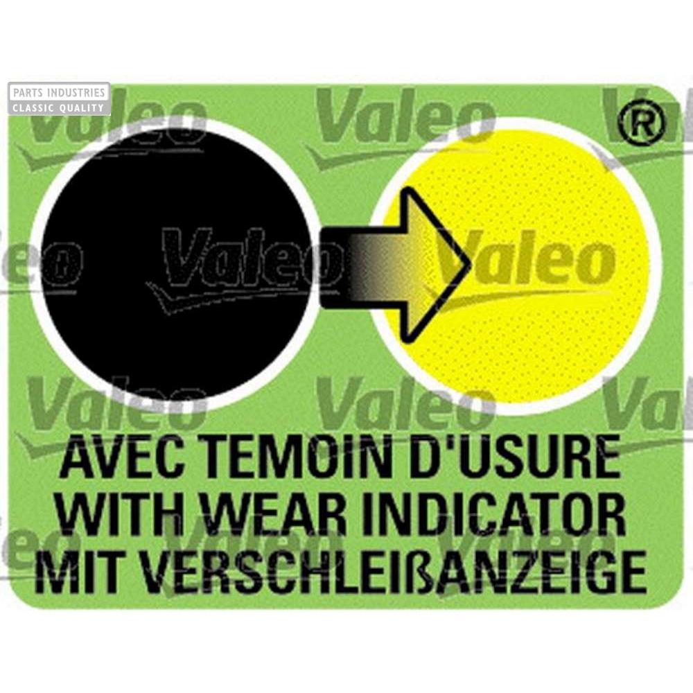 WIPER VALEO UM653 FLATBLADE