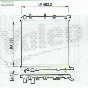 RADIATOR 380x403