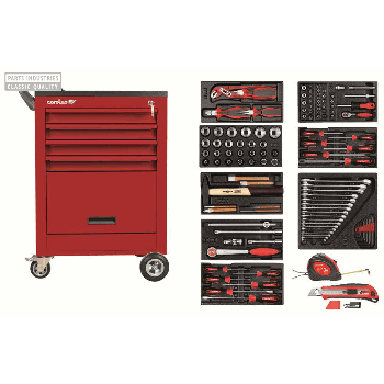 TOOL TROLLEY WITH ASSORTMENT