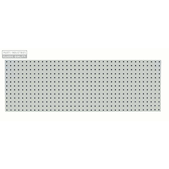 PANEL WITH SQUARE PERFORATION