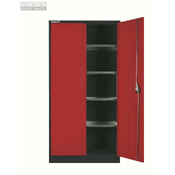 LOCKER WITH HINGED DOORS