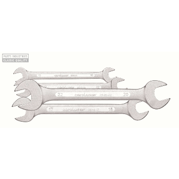 DOUBLE OPEN ENDED SPANNER SET