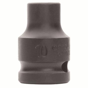 IMPACT SOCKET 1/2'' 17 MM