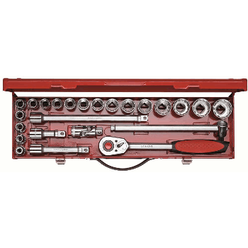 SOCKET SET 1/2'' 24 PCS