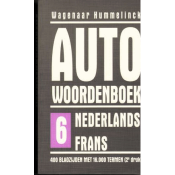 CAR DICTIONARY NL > FRENCH