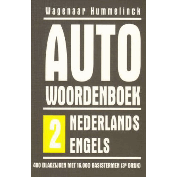 CAR DICTIONARY NL > ENGLISH