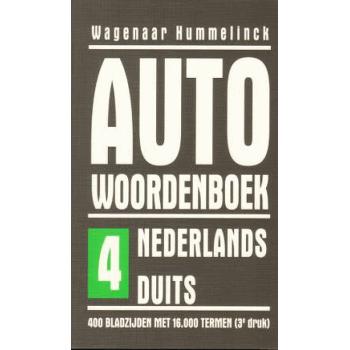 AUTO WOORDENBOEK NL > DUITS