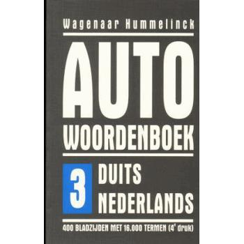 AUTO WOORDENBOEK DUITS > NL