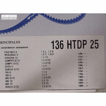 CAMSHAFT BELT 136T