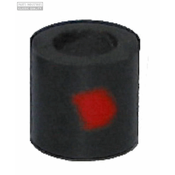 PIPE RUBBER 6.35MM LHS RED