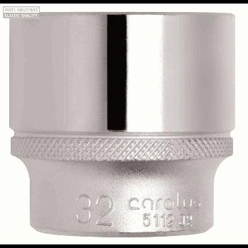 SOCKET 1/2'' BI-HEX 21 MM