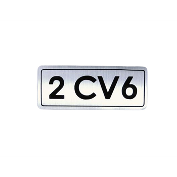 BADGE 2CV6