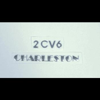 BADGE 2CV6 CHARLESTON