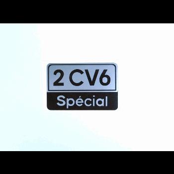 BADGE 2CV6 SPECIAL