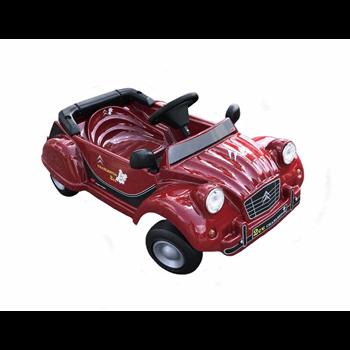 PEDAL CAR CITROEN 2CV RED