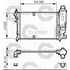 RADIATOR 390x322 TURN-CAP