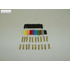 CABLE TERMINAL SET 4 MM COPPER