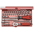SOCKET SET 1/4'' 33 PCS