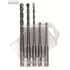SDS HAMMER DRILL BIT SET 5 PCS