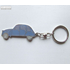 KEY RING 2CV BLUE