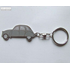 KEY RING 2CV GREY