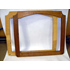 WOODEN FRAME FRONT SEAT