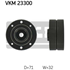 RET.PULLEY 70.6x32 DK VKM23300