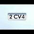 BADGE 2CV4