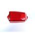FLASH/PARKING LIGHT GLASS RED